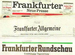 Zeitungen Frankfurt